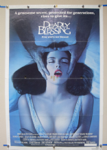 Deadly Blessing (1981) Horror Poster Sharon Stone  - US One Sheet